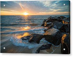 Wave Break Acrylic Print