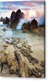 Wave Breaker  Acrylic Print