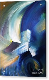 Wave Acrylic Print by Ellen Young