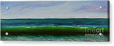 Acrylic Print featuring the painting Wave by Mary Scott