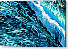 Wave Runner Acrylic Print
