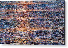 Wave Study Acrylic Print