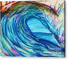 Wave Variation Acrylic Print by Jamey Balester
