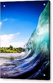 Wave Wall Acrylic Print