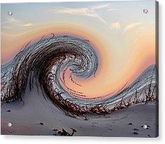 Waveland Beach  Acrylic Print