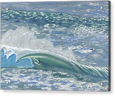 Waverider Acrylic Print by Patti Bruce - Printscapes