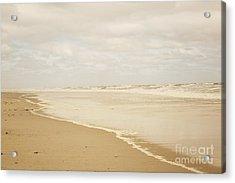 Waves Along The Shoreline Acrylic Print