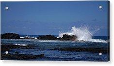 Waves Crashing Acrylic Print