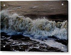 Waves Detail Acrylic Print