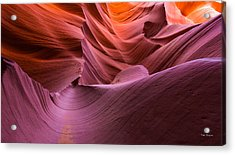 Waves-lower Antelope Canyon Acrylic Print