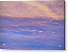 Acrylic Print featuring the photograph Waves Of Color by Wanda Krack