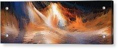 Waves Of Light Acrylic Print
