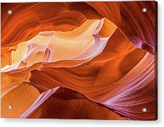 Acrylic Print featuring the photograph Waves Of Stone by Carl Amoth