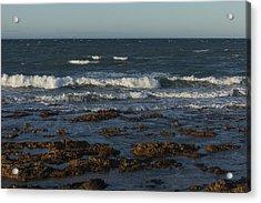Waves Rolling Ashore Acrylic Print