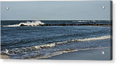 Acrylic Print featuring the photograph Waves by Sandy Keeton