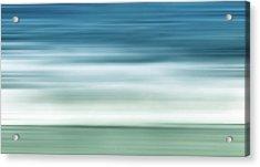 Waves Acrylic Print by Wim Lanclus