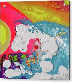 Wavesetting #1 Acrylic Print by Joseph Demaree