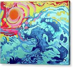 Wavesetting #2 Acrylic Print by Joseph Demaree