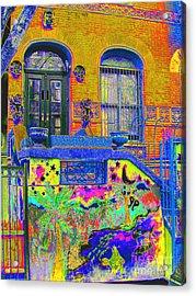 Wax Museum Harlem Ny Acrylic Print by Steven Huszar