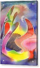 Waxy Dragon Acrylic Print