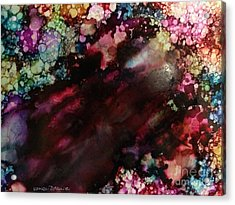 Acrylic Print featuring the painting Way Out by Denise Tomasura