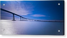 Acrylic Print featuring the photograph Way Over The Bay II by Ryan Weddle