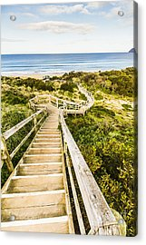 Way To Neck Beach Acrylic Print by Jorgo Photography - Wall Art Gallery