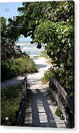 Way To The Beach Acrylic Print