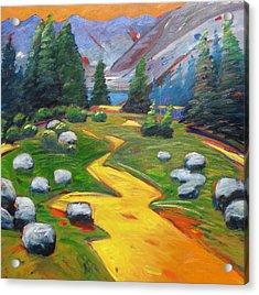 Way To The Lake Acrylic Print