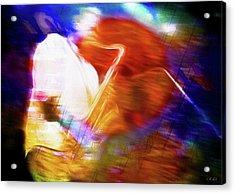 Wayne Shorter   Digital Watercolor Paintings Acrylic Print