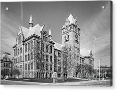 Wayne State University Old Main Acrylic Print