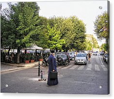Acrylic Print featuring the photograph Ways To Stop Traffic  by Connie Handscomb