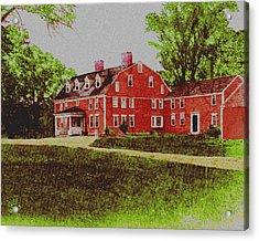 Wayside Inn 1875 Acrylic Print
