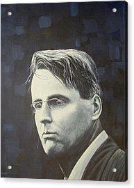 W.b. Yeats Acrylic Print by Eamon Doyle