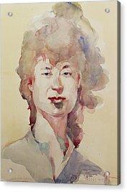Wc Portrait 1626 My Sister Eunja Acrylic Print