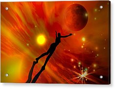 We All Shine On Like The Moon And The Stars And The Sun Acrylic Print by Shadowlea Is