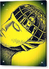 We And Our Power To Imprison Our Own Conscience Acrylic Print by Paulo Zerbato