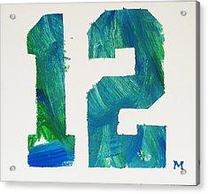 We Are 12 Acrylic Print