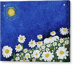 We Are Daisies Acrylic Print