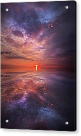 We Are The Dreamers Of Dreams Acrylic Print by Phil Koch