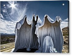 We Are The Things That Go Bump In The Night That You Cant See Acrylic Print by Mike McMurray
