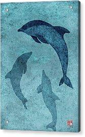 We Dream Again Of Blue Green Seas Acrylic Print