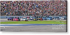 We Have A Race Acrylic Print