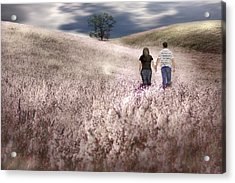 We Made Love Under The Tree Acrylic Print