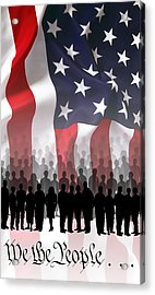 We The People . . . Acrylic Print by Daniel Hagerman