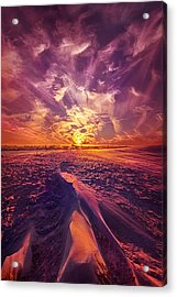 We Wait And We Wonder Acrylic Print by Phil Koch