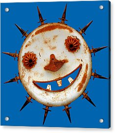 Wear Sunscreen Acrylic Print by Christine Till