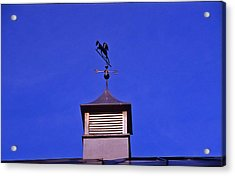 Weather Vane Acrylic Print by Randy Muir