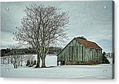 Weathered Acrylic Print by Heather Applegate