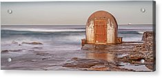 Weathered In Time Acrylic Print by Az Jackson
